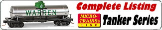 Micro-Trains Tank Car Series