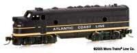 Micro-Trains Z Scale F7 ACL