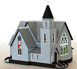 North Eastern Scale Models Gothic Church Kit