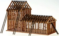 STS Laser Cut House Under Construction Kit