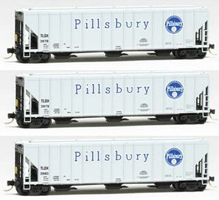 N Scale Collector Pillsbury Covered Hopper
