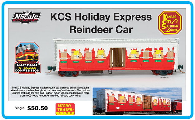 N Scale Enthusiast KCS Holiday Express