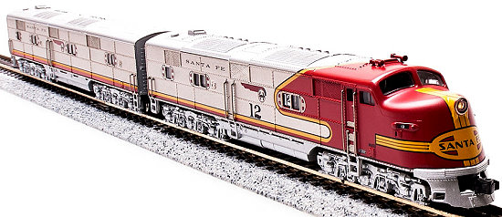 Precision Craft ATSF EMD E6