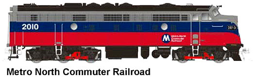 Metro North FL-9, N Scale