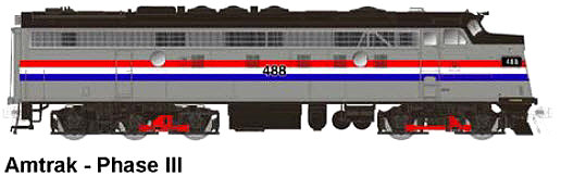 Amtrak Phase III FL-9