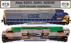 Train Control Systems ALD4 Decoder for Atlas