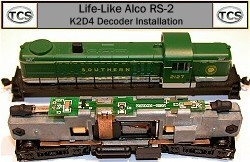 Train Control Systems K2D2 Decoder