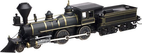 Painted/Unlettered Atlas 4-4-0 Steam Locomotive