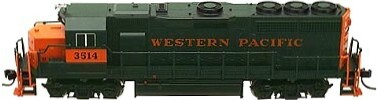 Atlas Western Pacific GP-40