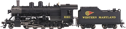 Bachmann Western Maryland 2-10-0 Decapod