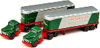 Classic Metal Works Roadway Tractor Trailer Set