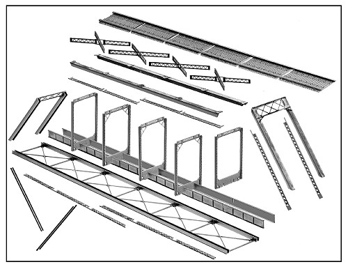 Illustration of parts included in Central Valley 1810 Kit