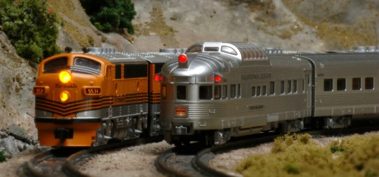 Kato California Zephyr with D&RGW F3's