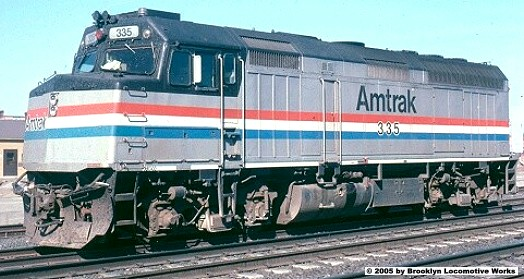 Kato Amtrak F40PH