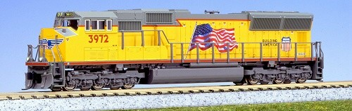 Union Pacific EMD SD70M