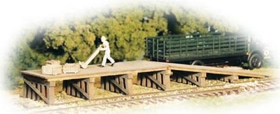 Monroe Models Railroad Loading Ramps