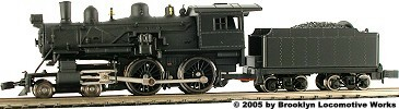 Model Power 4-4-0 American, Painted Unlettered