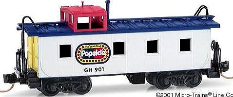 Micro-Trains Popsicle Caboose