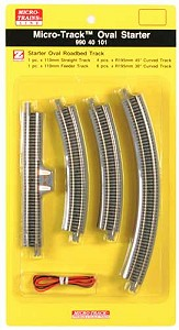 Micro-Trains Micro-Track Oval Starter Set