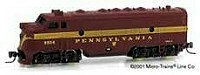 Micro-Trains Z Scale F7 Pennsylvania