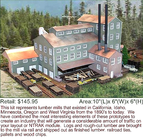 N Scale Architect Long Valley Lumber Kit